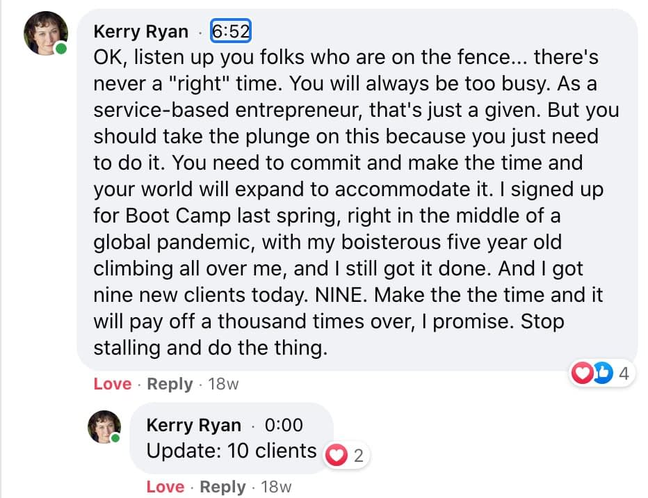 Testimonial from Kerry Ryan of Dog Adventures NW
